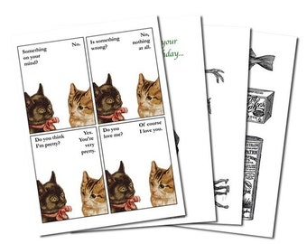 Make-Your-Own Fabulous Card Pack - Set of 4 - Humor - Funny