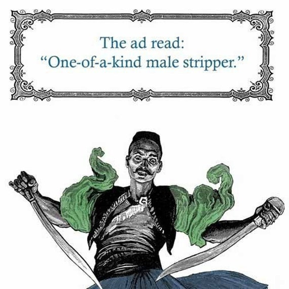 who ordered the male stripper birthday card by franticmeerkat, Birthday card
