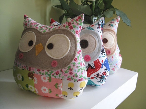 Free Owl Template Owl Toy Pattern Free Patchwork