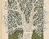 Tree  - Green  - Original illustration.