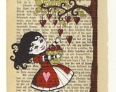The little heart collector -print