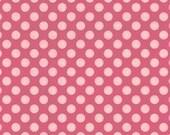 Riley Blake Designs, Summer Song, Pink Summer Dot Fabric - Half Yard