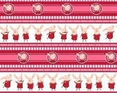 Olivia TV, Olivia Pink Stripe OOP Fabric - HALF Yard