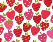 Ann Kelle Metro Market Strawberry Fabric - By the Yard