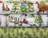 Ingrid Slyder, Winter Wonderland,  Half Yard Fabric Set