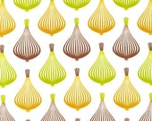 Print & Pattern, To Market To Market, Garlic Retro Fabric - By the Yard