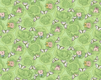 Special Delivery Cabbage Baby Green Half Yard Fabric Set (1 Yard Total)