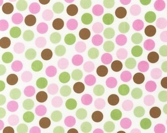 Ann Kelle Remix Dots Spring Fabric - REMNANT Size 26 Inches by 44 Inches