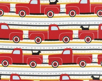 Laurie Wisbrun, Pooches and Pickups Summer Fabric - Half Yard