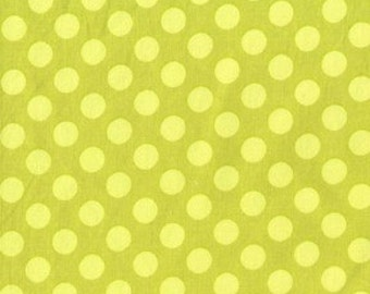Michael Miller Ta Dot Apple Fabric - Half Yard