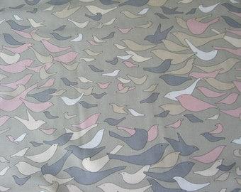 Alexander Henry Aviary Gray OOP Fabric - Half Yard