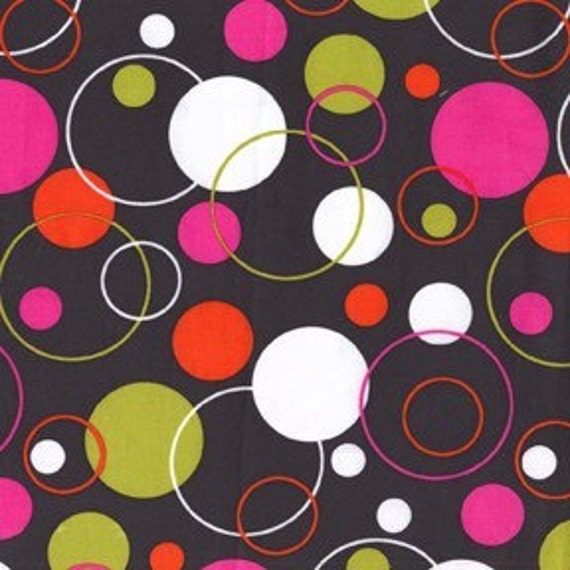 NEW Michael Miller Hoopla Dot Spice Fabric - By the Yard
