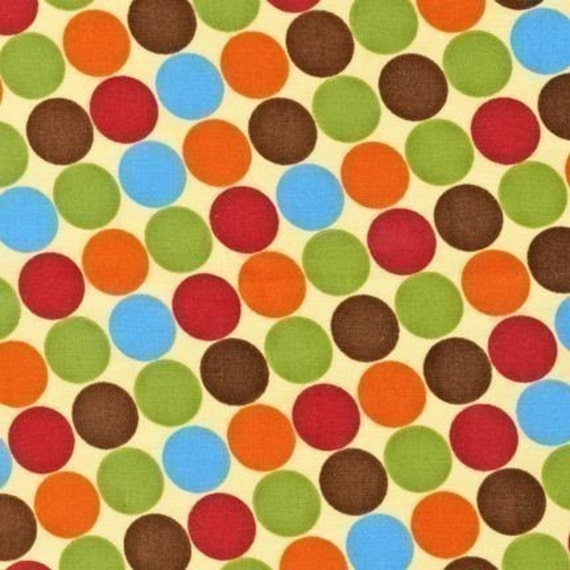 Caleb Gray Groove Dot Earth Fabric- By the Yard