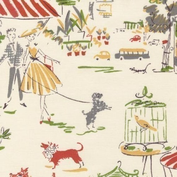 Kathy Hall, Ooh La La Paris Fabric - By the Yard