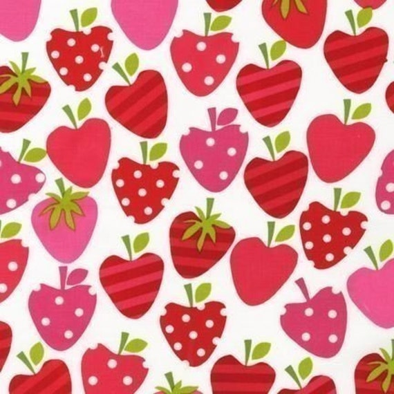 Ann Kelle Metro Market Strawberry Fabric - By the Yard
