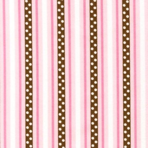 Robert Kaufman Cozy Cotton Stripe Garden FLANNEL Fabric - By the Yard