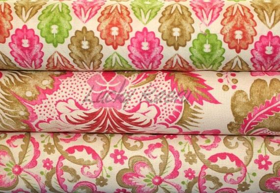 Victoria & Albert Museum, Garthwaite Pink, Half Yard Fabric Set