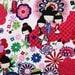 Alexander Henry Kaori Kokeshi Brite Fabric - By the Yard