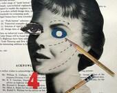 Sensory Overload. original collage by Vivienne Strauss.