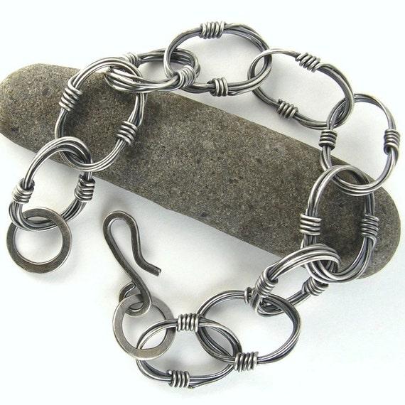 Gatherings - Sterling Bold Link Bracelet