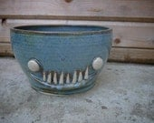 big 'ol ceramic monster cereal bowl