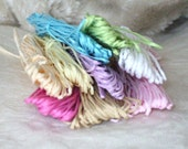 bag of coloured twine for all kinds of art and craft