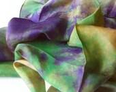 "35"" Playsilk Inspired by Art : Irises --Inspired by Van Gogh"