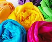 Play Silks Set -- Summer Garden Palette (Set of Six 35 Inch Playsilks)