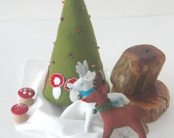 One of Every Reindeer (Wool Felt Tutorial PDF)