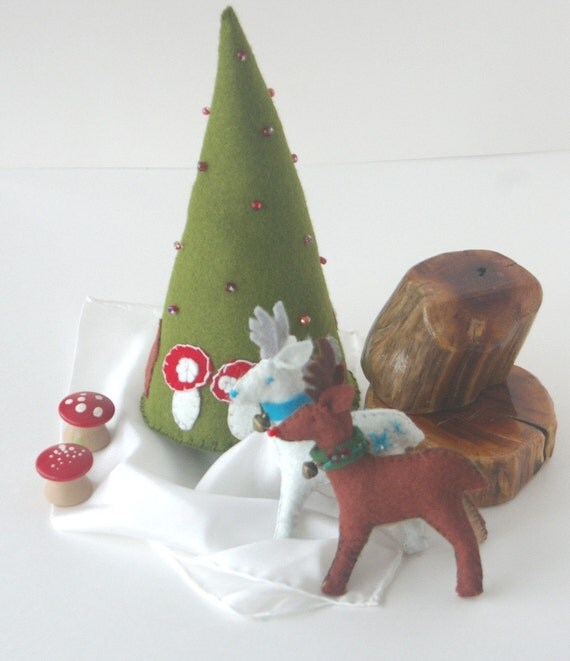 One of Every Reindeer (Wool Felt Tutorial PDF)