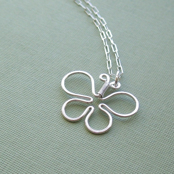 butterfly necklace (all sterling silver)