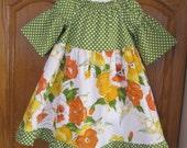Garden Party Dress Size 4T