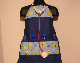 Apron Childrens Craft Tweetie Bird