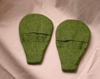 Pot Holder Magnetic Olive Green