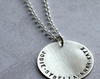 Sterling Silver Mega Necklace