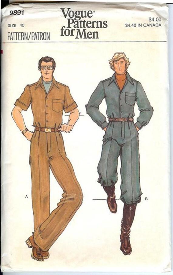 Vintage Mens Patterns 45