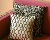 Woven jute cushion cover