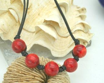 Red devil necklace