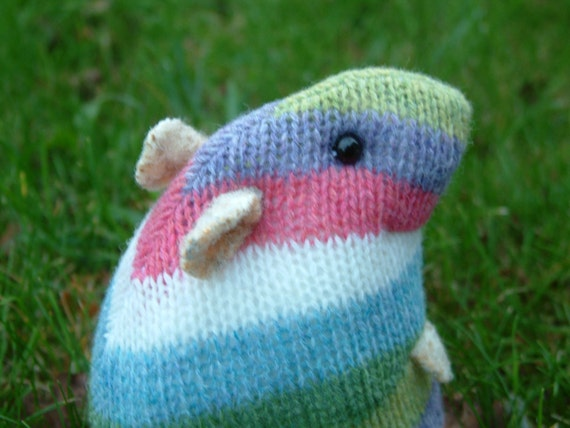 Knitting Pattern For Hamster Jumper : plush woolly hamster made from recycled jumper/sweater purple