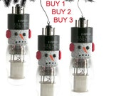 FROSTY THE SNOWMAN  VINTAGE VACUUM TUBE ORNAMENTS,  LARGE
