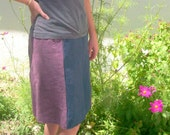 The Eggplant Eco Skirt RESERVED for tiffypop