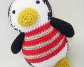 Polly Penguin PDF Crochet Pattern