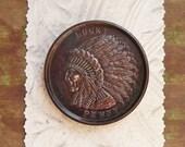 Vintage Large Lucky Penny- New Mexico souvenir