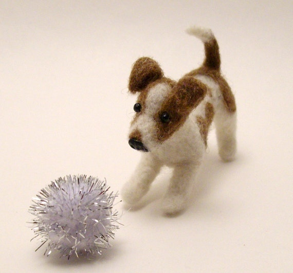 Commission a Needle Felted Likeness of your Dog or Cat - Custom Order ANY Dog or Cat OOAK