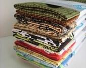 Handkerchief Revival .. cotton hanky duo .. eco tissue napkins papertowel
