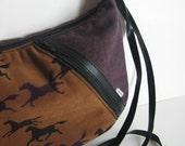 stellina purse .. plum equestrian