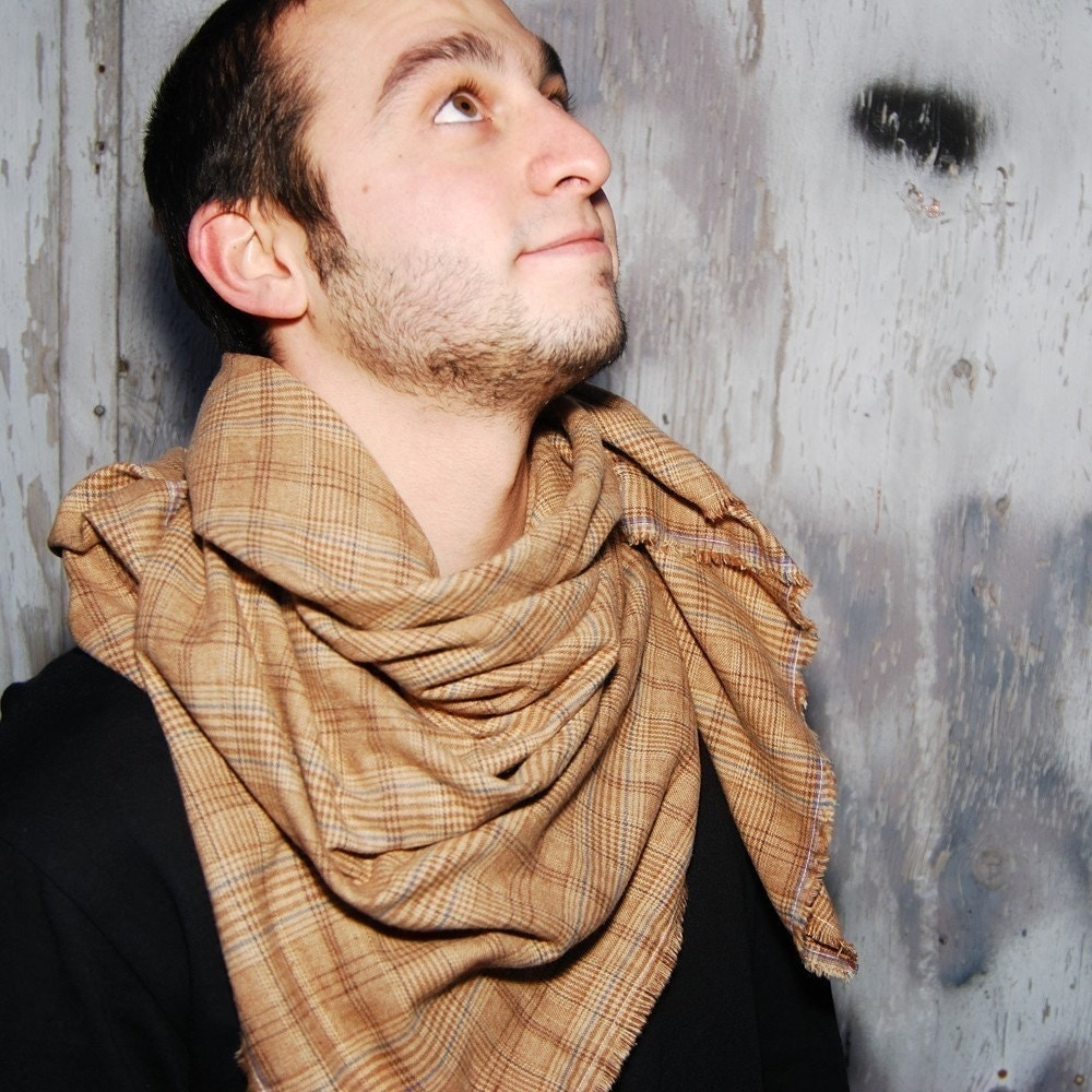 Super Soft Cotton Plaid Hipster Scarf Your Choice