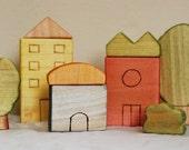 House blocks - Earth Day
