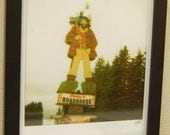 Polaroid Instant Enlargement - I'm a Lumberjack