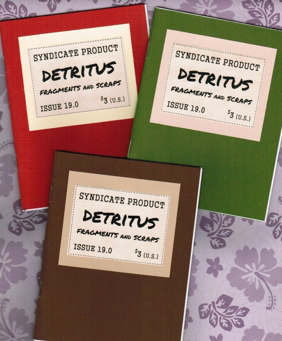 Syndicate Product 19 - DETRITUS (Fragments and Scraps)